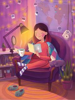 Вечернее чтение / Shop of little joys