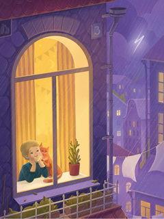Смотреть на дождь / Shop of little joys