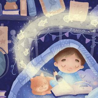 Читать под одеалом / Shop of little joys