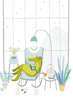 Крокодил читает / Shop of little joys