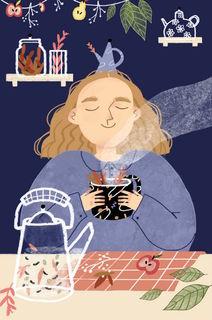 Ароматный чай / Shop of little joys