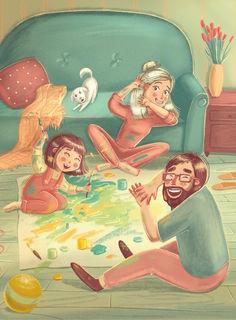 Семейный арт / Shop of little joys