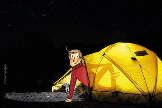 Свет в палатке / Shop of little joys