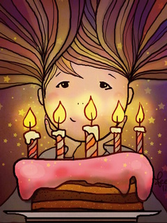 To blow out candles / Shop of little joys