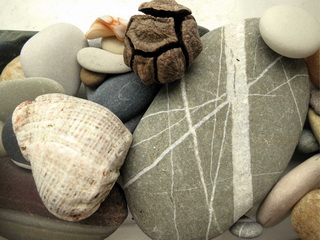 Stones with cone / Shop of little joys