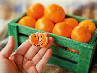 Tangerines-little men / Shop of little joys