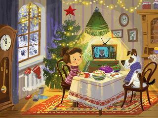 Встречать Новый год / Shop of little joys