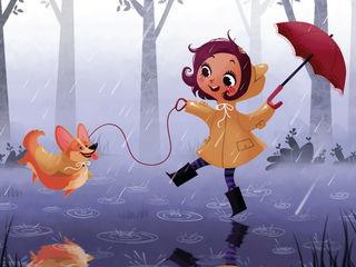 Танцующие под дождём / Shop of little joys
