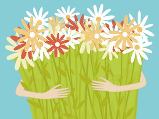 Охапка цветов / Магазин маленьких радостей