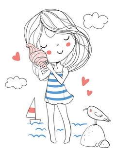 Девочка с ракушкой / Магазин маленьких радостей