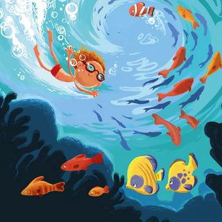 Плавать с рыбками / Магазин маленьких радостей