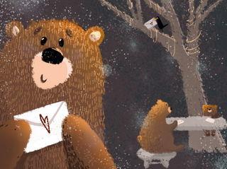 Медведь с письмом / Магазин маленьких радостей