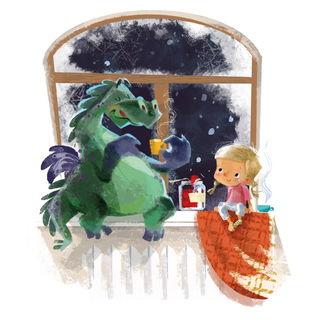 Девочка с драконом / Shop of little joys