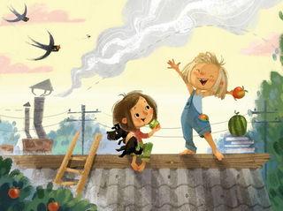 Двое на крыше / Shop of little joys