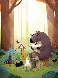 Лесные чтения / Магазин маленьких радостей