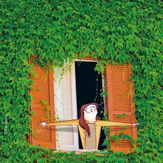 Распахнуть окно / Магазин маленьких радостей