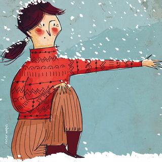 Ловить снег / Магазин маленьких радостей