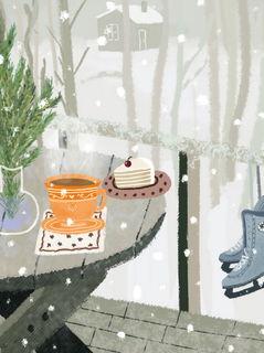 Зимний натюрморт / Магазин маленьких радостей
