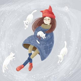 Снежные котики / Shop of little joys