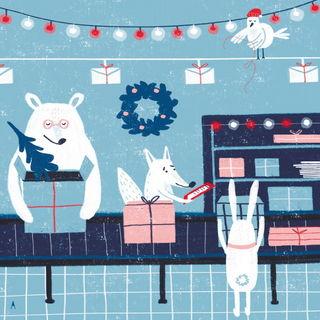 Новогодняя почта / Shop of little joys