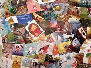 Экологичные открытки от проекта «Маленькие радости»