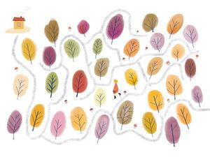 Осенние дорожки