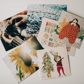 Eco-postcards / Shop of little joys